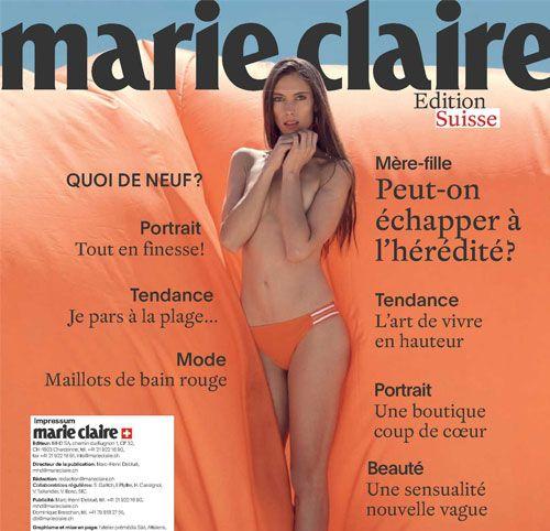 Couverture presse : Marie_Claire_Suisse