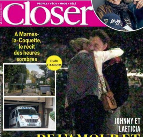 Couverture presse : Closer