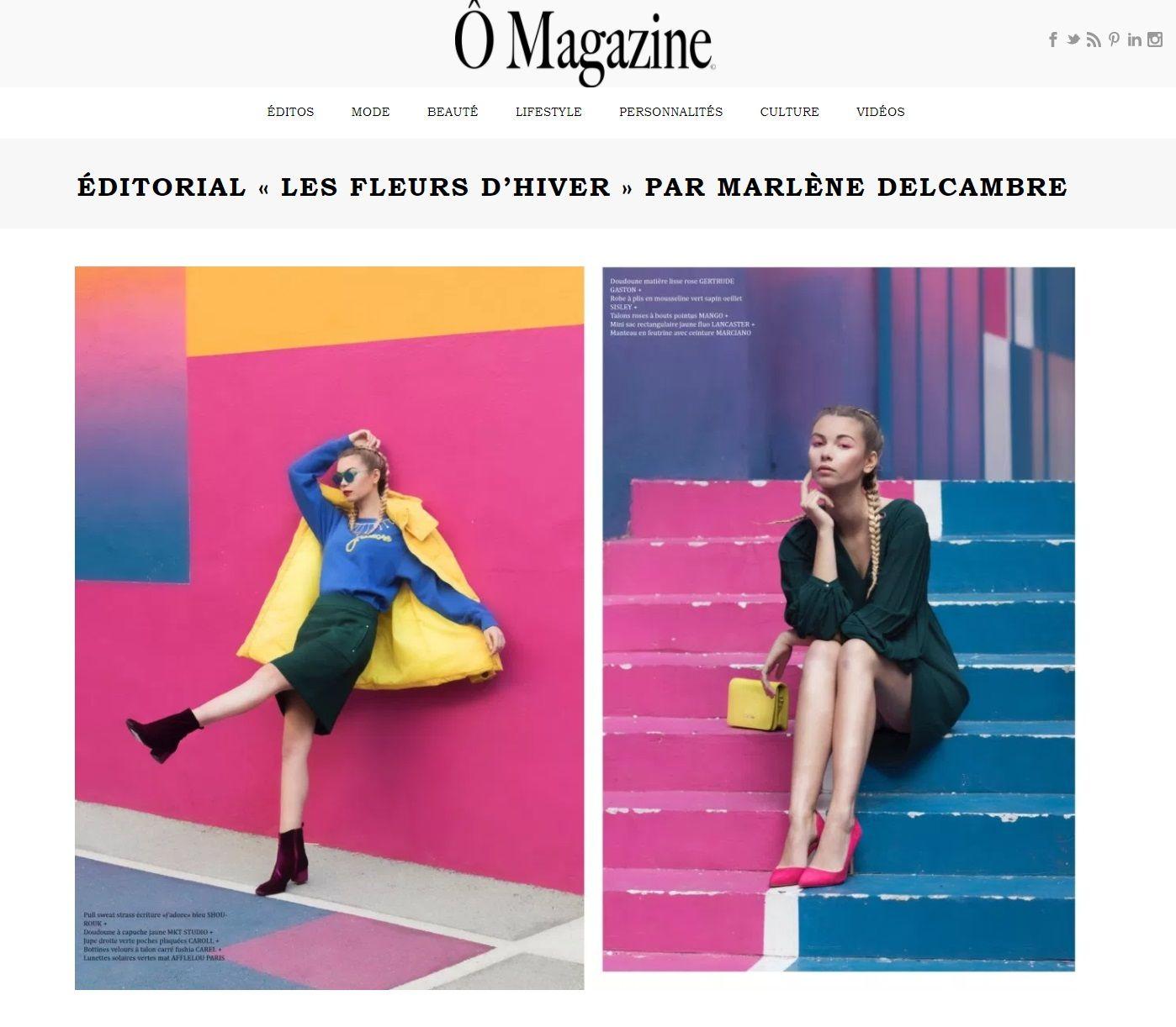 Couverture presse : Omagazine.fr