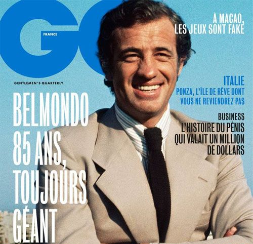 Couverture presse : Gq