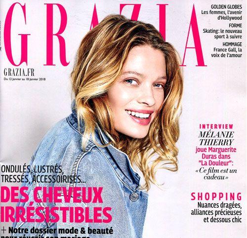 Couverture presse : Grazia