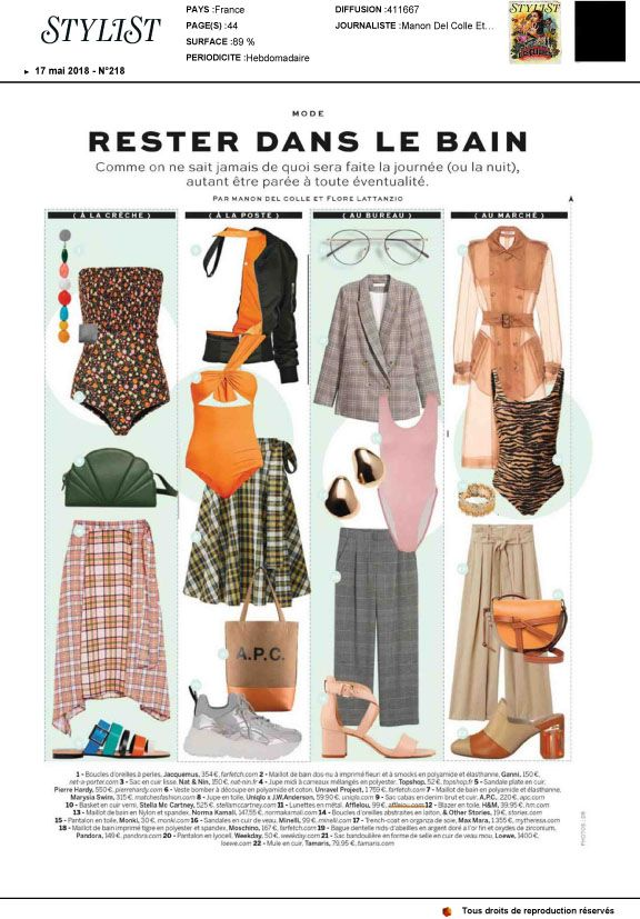 Couverture presse : Stylist