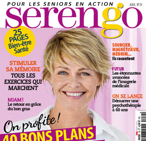 Couverture presse : Serengo