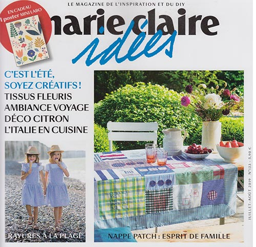Couverture presse : Marie_Claire_Idees
